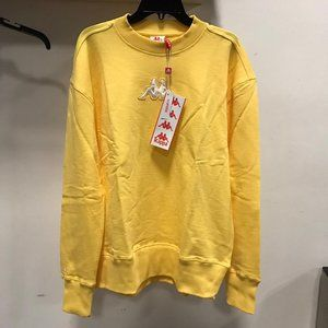 NWT KAPPA Unisex MEM WOMEN sweater Jacket yellow L
